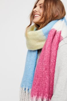 Color My World Stripe Scarf | Free People
