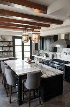 küchentrends 2017 mattes schwarz und marmor oberflächen