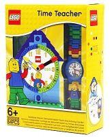 Deze LEGO Time Teacher helpt kinderen klok te leren kijken! Er is er één voor meiden en één voor jongens.