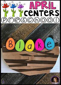 April Preschool, Preschool Names, Preschool Lesson Plans, Preschool Classroom, Preschool Activities, Spring Preschool Theme, Bird Crafts Preschool, Preschool Printables, Classroom Ideas