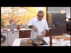 Cocina de caza Receta de Conejo estofado con patatas nuevas y níscalos - YouTube