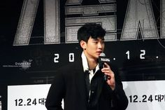 "nice Kim Soo Hyun on the VIP premiere of ""technicians"" -The Technicians (16.12.2014)"