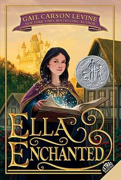 Ella Enchanted, by Gail Carson Levine.  A sweet, Cinderella-inspired story with a strong heroine. I loved it when I was 9 and I still love it. I will never see the movie.