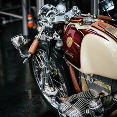 @caferacergram by CAFE RACER http://ift.tt/XIhrrT #caferacergram #caferacer #caferacers | BMW R80, 'Lucille'. See / Read more on @throttleroll | www.throttleroll.com by caferacergram...