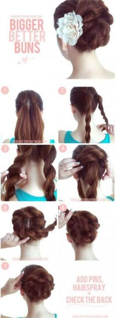 Excellent And Super Easy Updos For Long Hair Inspirations 33