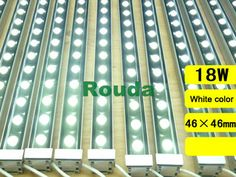 18w led wall washer,outdoor dmx led wall washer light taiwan led chips Epistar 110-120lm/w high quality Guarantee 2years CE ROHS