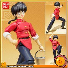 "Japan Anime ""Ranma 1/2"" Original BANDAI Tamashii Nations S.H.Figuarts / SHF Action Figure - Ranma Saotome"