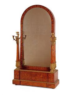 Psyché avec boîte à musique   Félix Rémond (1779-1860), ébéniste Davrainville (né en 1784), facteur d'orgue Paris, 1823
