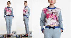ARGO - Cropped Magnolia Sweatshirt