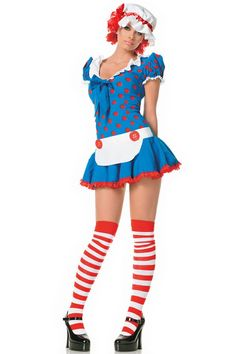 Rag Doll Halloween Costume #halloween #costume www.loveitsomuch.com