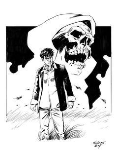 Dylan Dog Dylan Dog, Old Boys, A Comics, Joker, Old Things, Comic Books, Darth Vader, Ink, Dogs