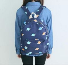 Japanese kawaii students backpack