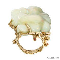Перстень с Опалом Ring with Opal  #ring #опал #opal #top #топ #кольцо #красота #мода #перстень #fashion #woman #золото #style #jewelry #bijouterie #jewellery #podium #gemstone #exclusive #russia #украшения #best #эксклюзив #россия #супер #галерея #арт #design #handmad