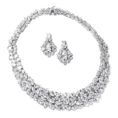 Shop a great selection of Mariell Ravishing Cubic Zirconia Statement Jewelry Necklace Earrings Set Weddings Pageants. Find new offer and Similar products for Mariell Ravishing Cubic Zirconia Statement Jewelry Necklace Earrings Set Weddings Pageants. Wedding Necklace Set, Bridal Necklace, Bridal Jewelry, Bridesmaid Jewelry, Jewelry Sets, Jewelry Necklaces, Women Jewelry, Jewellery, Cubic Zirconia Earrings