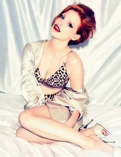 Jessica Chastain...she's hot and she hunts down Osama