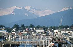 Petersburg, Alaska.   Lived here for couple years in the 50's before Alaska was a state.  A wonderful adventure.