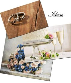 Inspiration boards are used by top design professionals and can be a handy resource for couples planning their weddings.