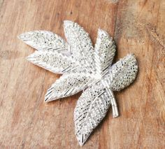 Beaded Applique, Silver Applique, Leaf Applique (1 piece) - Sashes Fascinators Head Pieces Wedding Bridal DIY Craft - Large Silver Leaf on Etsy, $6.26 AUD
