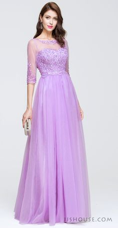 Dreamy and romantic, you will look like a fairy in this wonderful Prom dress. #JJsHouse #Party #Prom