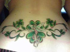 shamrock tattoos for women | Lower Hip Tattoo ideas: Irish Republican Army Tattoos