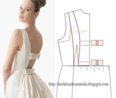 Square armhole bow dress
