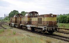 Jako zdroje náhradních dílů byly vysloužilé lokomotivy 735.239-6 a T466.0240 dopraveny z Čech na Moravu, kde byly v břeclavském depu značně vykanibalizovány. Následně došlo k jejich přetažení na deponaci do Valtic, kde jsou i zachyceny. Diesel Locomotive, Double Trouble, Train