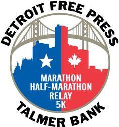 Detroit Free Press Marathon - The International Half Marathon is great - over the Bridge to Canada and back through the Tunnel!