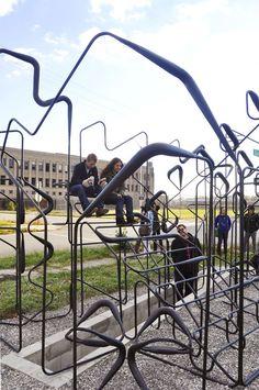 Empty Pavilion in Detroit Solicits a Latent Public