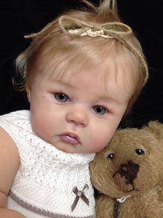 Reborn doll Prototype baby girl toddler child Candice Sandy Faber IIORA