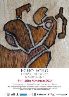 "zoocreative   ""pyrographic"" artwork created on behalf of Echo Echo Dance Ireland 2014."
