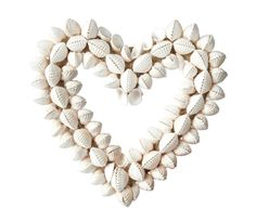 This garden shell heart is made from natural shell that's suitable for adding a lovely finishing touch to your home or garden