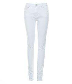 Made in European figure-hugging stretch denim manufactured in Europe. These mid-rise jeans are engineered to fit like a second skin in a flattering, skinny silhouette. Second Skin, Stretch Denim, Skinny Jeans, Chic, Pants, Shopping, Style, Fashion, Clothing