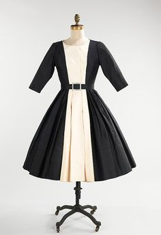 Cocktail Dress Mainbocher, 1958 The Metropolitan Museum of Art