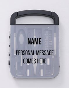 Personalised Toolkit