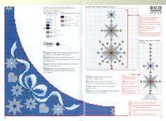 Schema punto croce Tovaglia 83