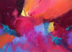 """Jewell Tones"" 22x30 Acrylic on PaperDavid M. Kessler"