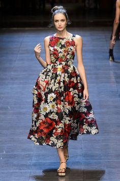 Défilé Dolce & Gabbana Printemps-Eté 2016 - Marie Claire