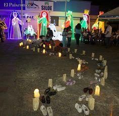 Un pesebre con enormes figuras fue construido en la IPS de Siloé, de la Red de Salud de Ladera, para darle la bienvenida a la Navidad del 2012 en Cali.  cali| Jueves, Diciembre 6, 2012