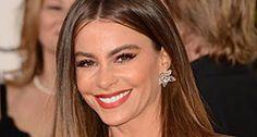 Earring Sofia Vergara wore at the Golden Globes