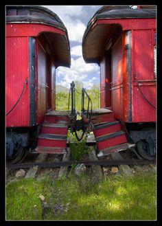 Abandoned Train, Abandoned Buildings, Abandoned Places, By Train, Train Tracks, Train Car, Bonde, Nevada City, Old Trains
