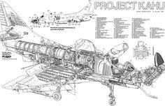 aircraft WWII cutaways - Recherche Google