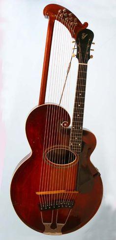 1915 Gibson Harp Guitar