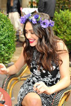 Corona de flores a examen #tendencias
