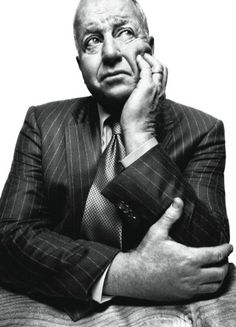 Kroll in his office in New York City. Photograph by Platon.