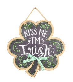 St. Patrick's Day Kiss Me I'm Irish Hanger
