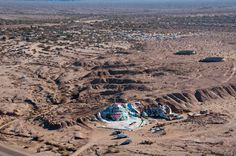 Salvation Mountain Slab City | Salvation Mountain, located near the main road to Slab City, was built ...