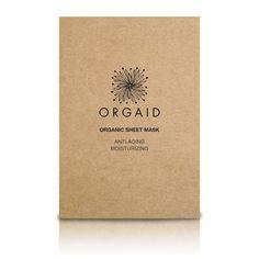 Anti-Aging & Moisturizing Organic Sheet Mask