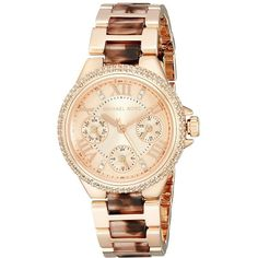 751e50382a792 Best Michael Kors Womens Mini Camille Rose Gold Watches deals for Black  Friday 2015