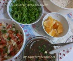 Jantar/Almoço -  Feijoada saudável e digestiva