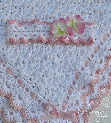 The sky's the limit! Give Baby the sweetest of sleep and the best of dreams with this unbelievably luxurious afghan. Fluffy crochet shells come together to create billows of heavenly softness, just right for Baby's delicate skin. It's a perfect gift for boys and girls alike—just trim it in blue, pink, or any color of your choice, and watch little eyes grow wide in delight before Baby snuggles into the clouds for a nap!